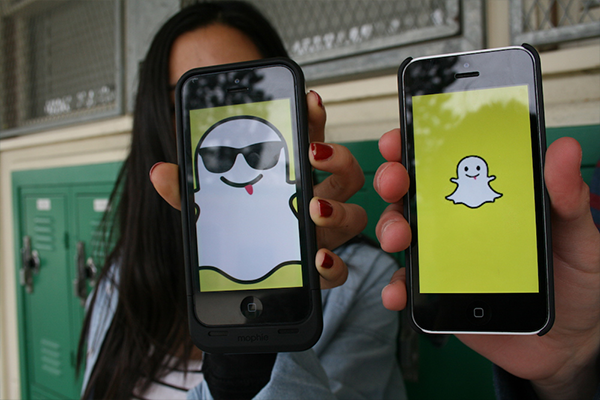 snapchat logos on iphones customized for geofilters