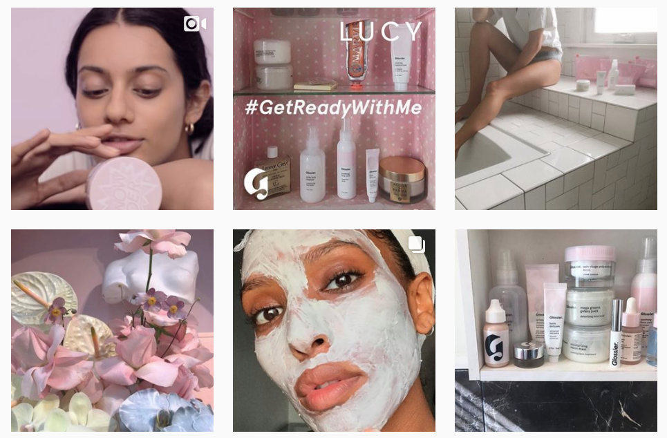 marketing we love: Glossier's social media