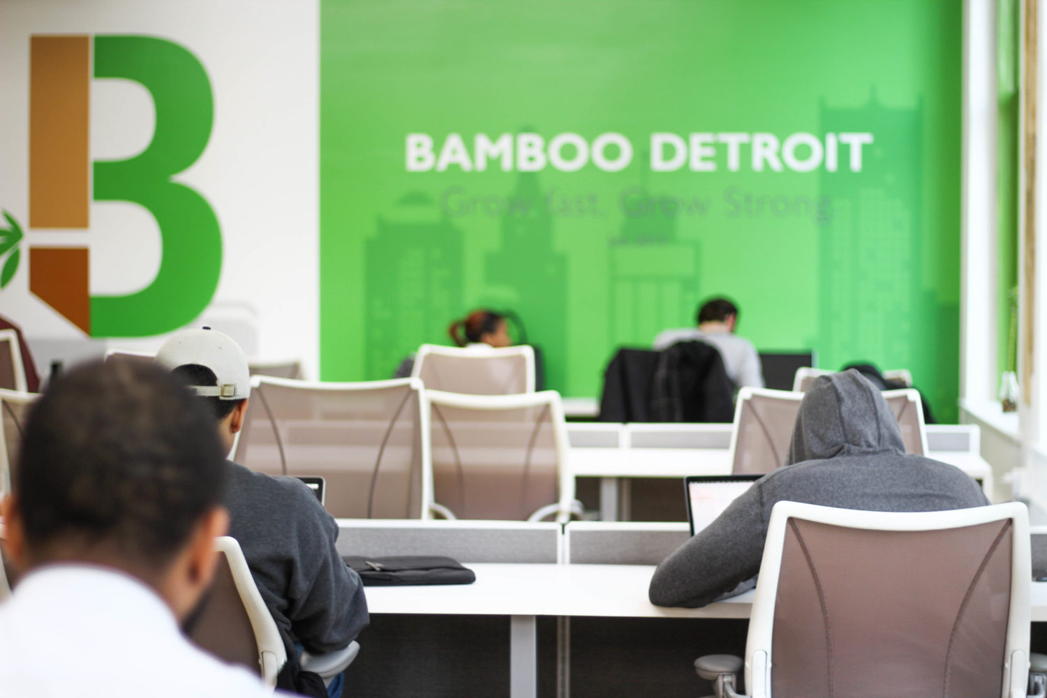 Bamboo Co-working space, Detroit