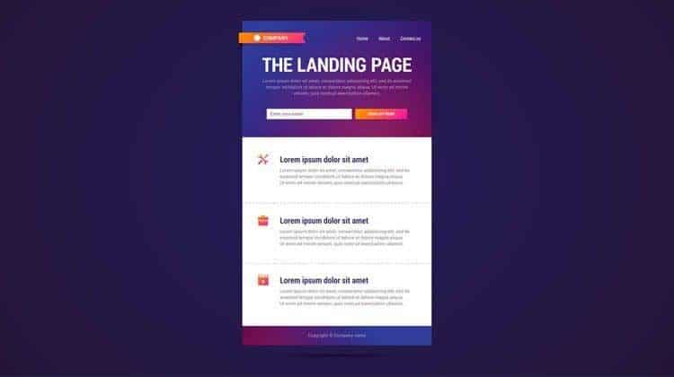 MSC landing pages